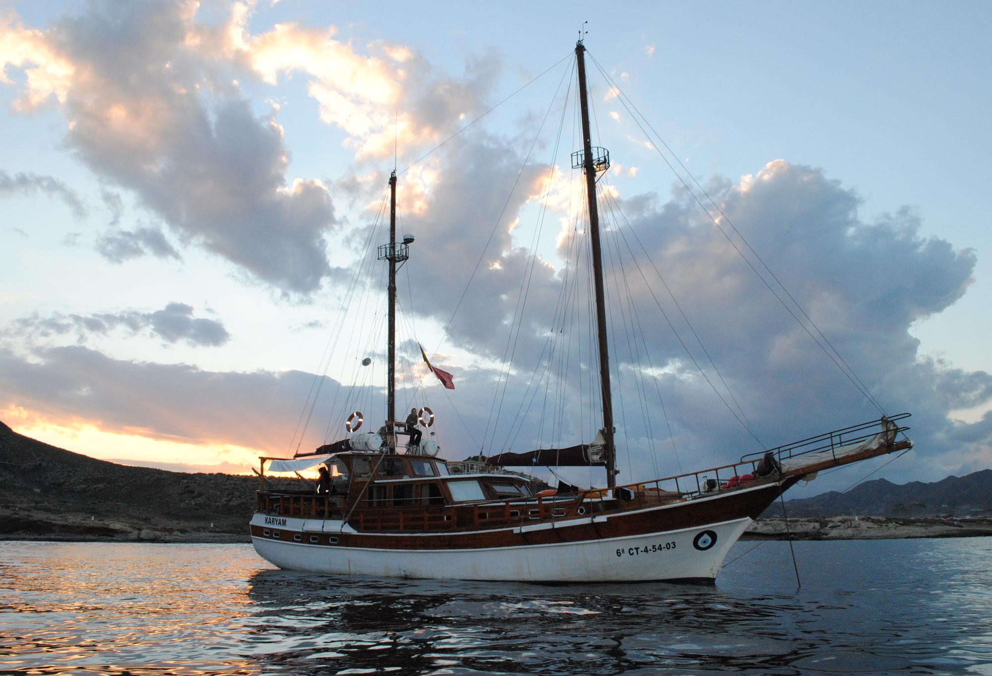 Navegar en Goleta